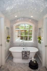 fixer upper a big fix for a house in the woods master bathrooms