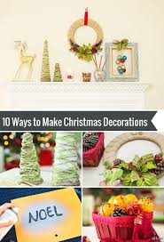 Quick Homemade Christmas Decorations 129 Best Diy Holiday Decor And Crafts Images On Pinterest