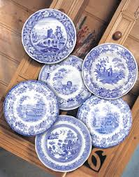 spode blue room 10 5 traditions plates set of 6 99 99