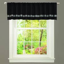 Sparkle Window Curtains by Amazon Com Lush Decor Night Sky Curtain Panel Black Gray Home