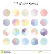 Color Shade by Pastel Tone Color Shade Background Colorful Gradient Meshes Stock