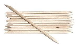 sticks wood orange wood orangewood sticks stick cuticle pushers