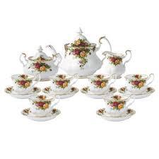 country roses tea set royal albert country roses 15 teaset royal albert