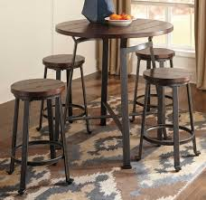 Bar Set For Home by Dining Room 5 Piece Dining Set With Counter Height Style With