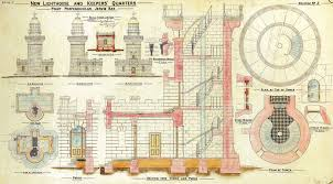lighthouse floor plans file lighthouse and keepers quarters point perpendicular
