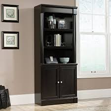 amazon com sauder 416515 bookcases furniture palladia library