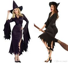 halloween costume for women 2017 all black gothic witch