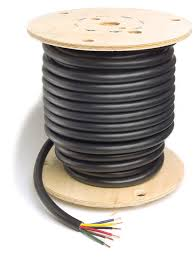 82 5605 trailer cable 14 gauge 6 conductor wire length 500 u0027