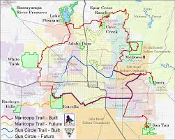 lake pleasant map maricopa trail maps maricopa county parks recreation