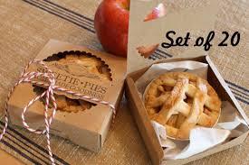 personalized pie boxes wedding diy wedding favor box mini pie packaging kit