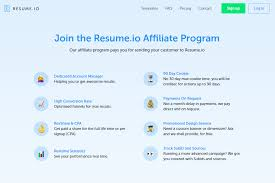 Affiliate Manager Resume Resume Io Affiliate Program Reviews Adswikia