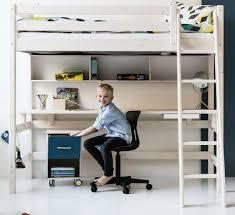 bureau flexa flexa hoogslaper met schuine ladder en bureau de gehele