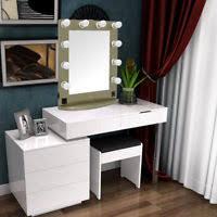 Lighted Make Up Vanity Hollywood Lighted Make Up Vanity Backstage Mirror 10 Pcs Make Up