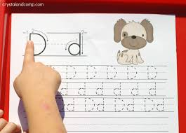 handwriting practice for kids d is for dog crystalandcomp com