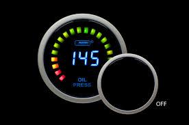 digital oil pressure gauge prosport gauges 0 145psi
