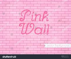 pink rose grunge brick wall background stock vector 203510734