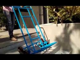 stair climbing trolley most innovative equipment youtube