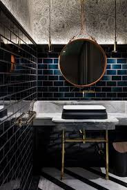 Blue Tile Bathroom by Top 25 Best Dark Bathrooms Ideas On Pinterest Slate Bathroom