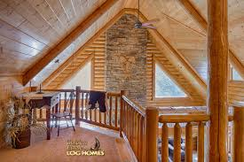 golden eagle log and timber homes floor plan details lofted log