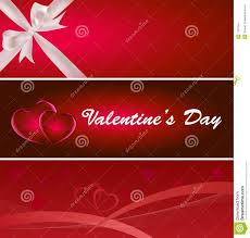 valentines banner s day banner stock images image 7787054
