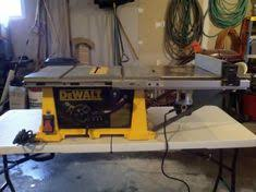 dewalt table saw extension dewalt dw745 table saw station with router woodworking the shop