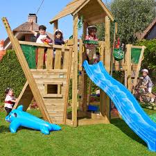 jungle gym wooden jungle mansion climbing frame playset with boat