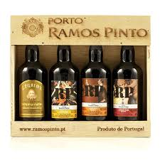 Wine Gift Boxes Porto Wine Gift Box 4x90ml Miniatures Ramos Pinto