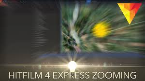 how to zoom in hitfilm 4 express youtube