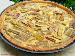 la cuisine du nord cuisine et cagne de tarte du nord à la rhubarbe
