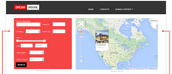 Free Real Estate Website Templates Download by Free Real Estate Template Dream House Ordasoft