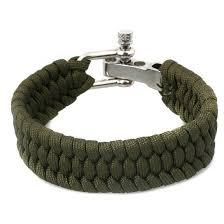 stainless steel buckle bracelet images Buy bh steel jewellery metal buckle survival paracord bracelet men jpg