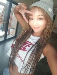 hyorin put on long hair pembelimm hyorin pinterest