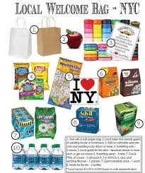 wedding gift nyc nyc themed wedding welcome bag customized by distancetothemoon