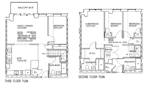 four bedroom floor plans eretz one luxury condominiums floor plans