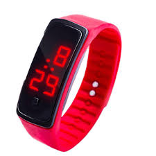 rubber bracelet watches images Cheap women 39 s watches rubber led ladies watch date sports women jpg