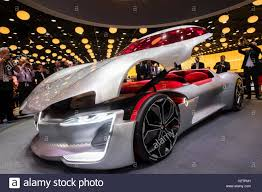 renault trezor world premiere of renault trezor concept electric supercar at