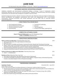 top finance resume templates u0026 samples