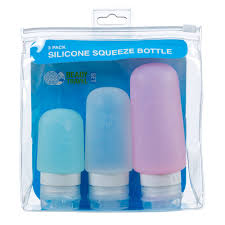 travel bottles images Buy silicone squeeze bottle set 3 pack by ready set travel online jpg