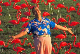 donald featherston the who invinted the plastic pink flamingo