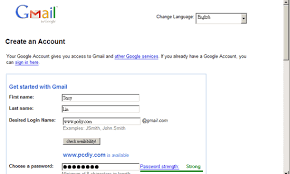 Gmail Sign Up Gmail Sign Up How To Sign Up For A Gmail Account