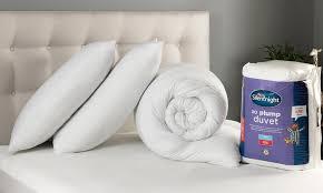 Silentnight Duvets 59 Off Silentnight Duvet And Pillows Set Groupon