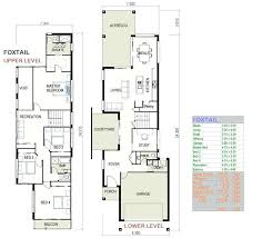 house plans for narrow lot home designs for small lots cool 3 storey house plans for small