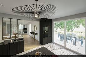 ouvrir sa cuisine comment ouvrir sa cuisine sur le salon house architecture
