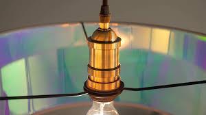 Wohnzimmer Lampe F Hue Hue Lampenschirm 45 Cm Grau Und Irisierend Made Com