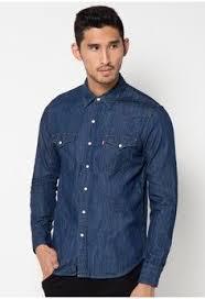 Baju Kemeja Billabong pria pakaian atasan kemeja levi s classic western shirt