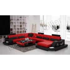 canapé design cuir pas cher le canapé dangle en cuir au design moderne canap noir et blanc