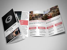 event brochure template event program free brochure templates