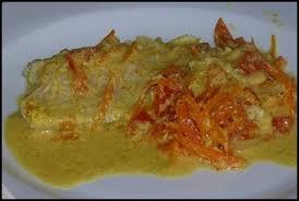 cuisiner le lieu noir filet de lieu noir sauce moutarde à l ancienne au curry la cuisine