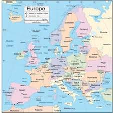 europe map by country europe travel maps countries country germany information