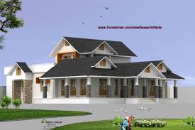Home Design For 2200 Sq Ft 2200 Sq Ft 3 Bhk Kerala House Design